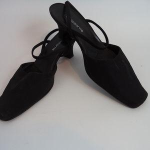Liz Claiborne Women's Black Mules 7.5 CL794 0519